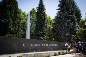 The Oregon World War II Memorial